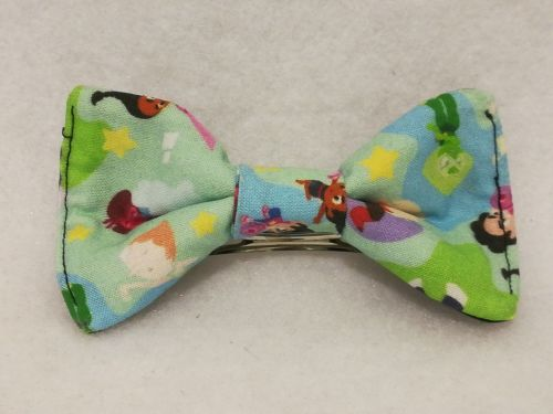 Hair Bow Made With Stephen Universe Fabric