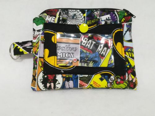 Convention Purse Made With Batman Fabrics