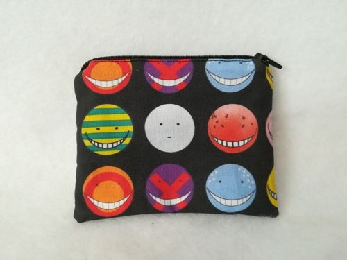 coin Purse Made With Assassination Classroom Fabric