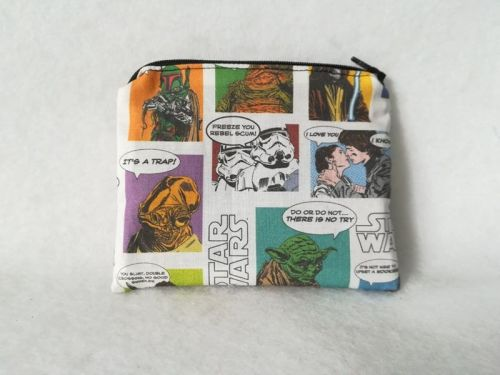 Coin Purse Made With Star Wars Fabric