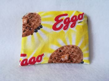 Coin Purse Made With Eggos Fabric - Stranger Things Fandom