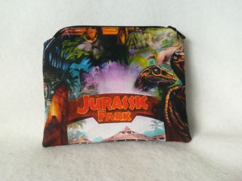 Coin Purse Made With Jurassic Park Fabric - Gates