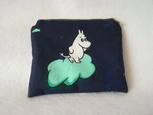 Coin Purse Made With Moomins Fabric