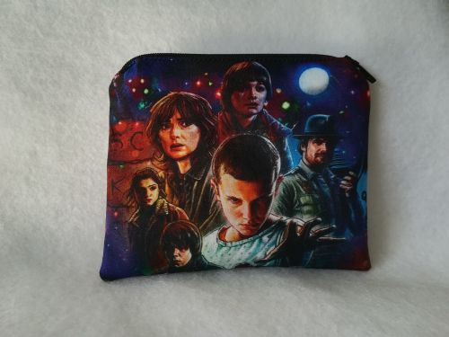 Coin Purse Made With Stranger Things Fabric