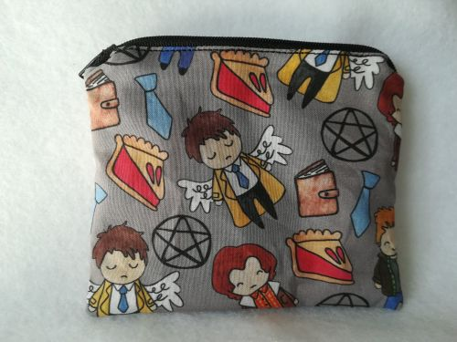 Coin Purse Made With Supernatural Fabric