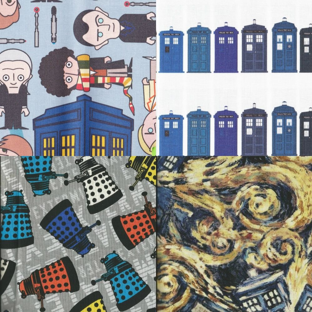 Items made with Doctor Who fabric