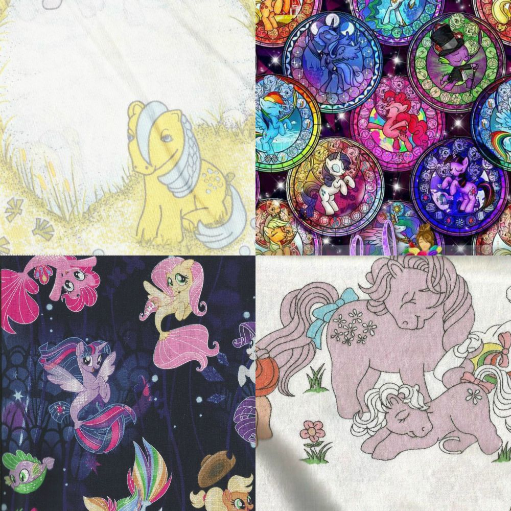 Items Made With My Little Pony Fabric