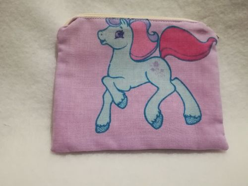 Coin Purse Made With My Little Pony Fabric - G2 Ivy