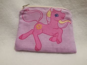 Coin Purse Made With My Little Pony Fabric - G2 Sundance