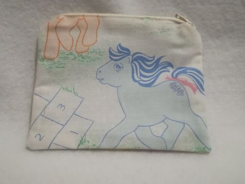 Coin Purse Made With My Little Pony Fabric - G1 HopScotch