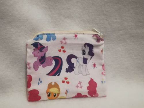 Coin Purse Made With My Little Pony Fabric - G4
