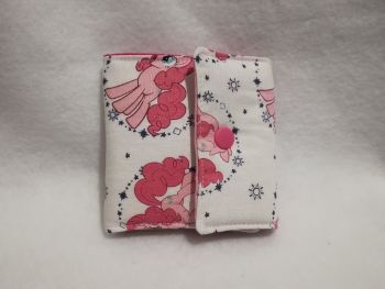 Wallet Made From My Little Pony Fabric - G4 Pinkie Pie