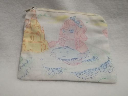 Coin Purse Made With My Little Pony Fabric - G1 Sea Pony