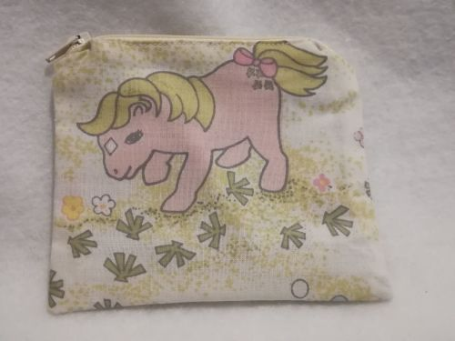 Coin Purse Made With My Little Pony Fabric - G1 Sea Shell 2
