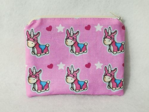 Coin Purse Made With Team Fortress 2 Fabric - Balloonicorn
