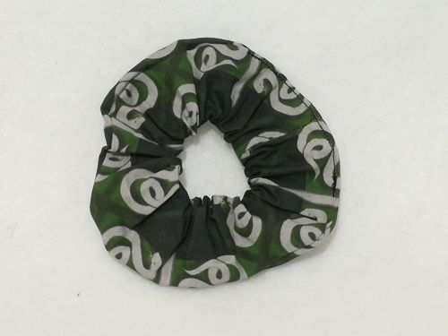 Scrunchie Made With Slytherin Fabric