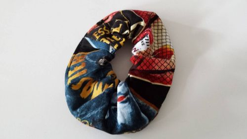Scrunchie Made With Horror Fabric