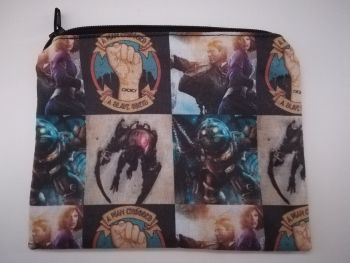 Coin Purse Made With Bioshock Fabric