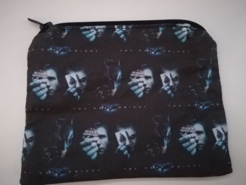 Coin Purse Made With The Dark Knight Fabric
