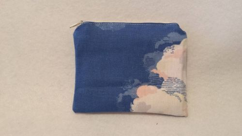 Coin Purse Made With Cath Kidston Clouds Fabric
