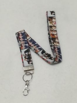 Lanyard Made with BTS Fabric