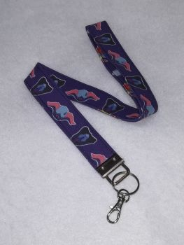 Lanyard Made With Voltron Fabric