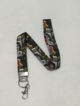 Lanyard Made with Labyrinth Fabric
