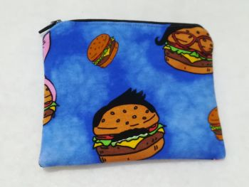 Coin Purse Made With Bob's Burgers Fabric