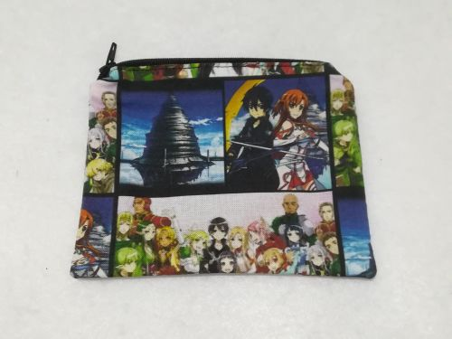Coin Purse Made With Sword Art Online fabric