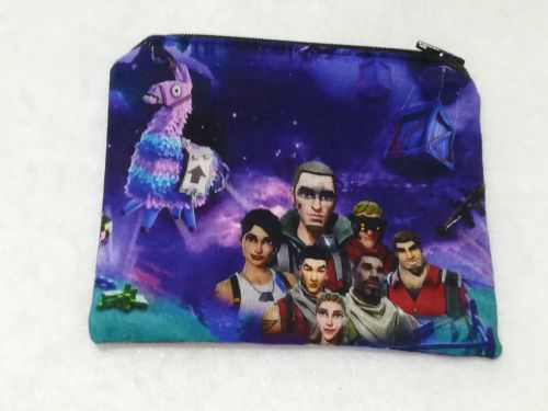 Coin Purse Made With Fortnite Fabric