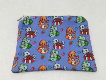 Coin Purse Made With Pokemon Fabric - Pone Booth Design