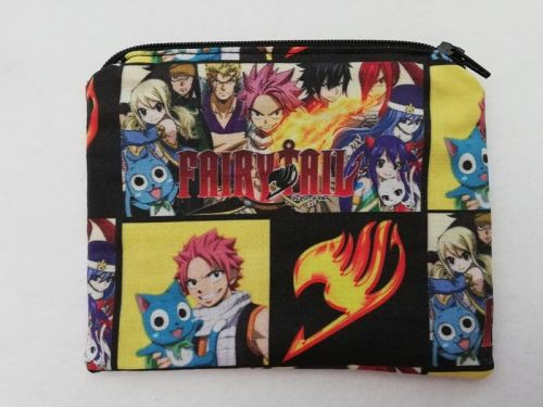 Zipper Pouch Made with Fairytail fabric