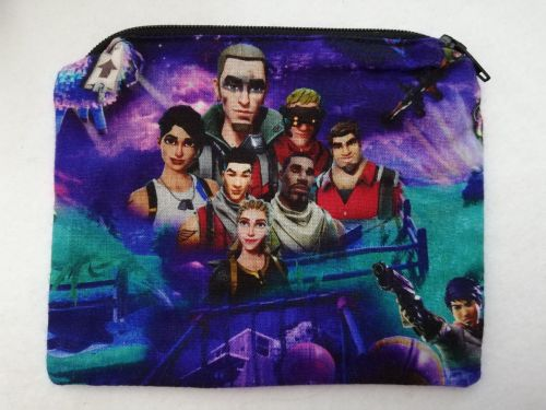 Zipper Pouch Made with Fornite fabric - Design 2
