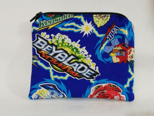 Zipper Pouch Made with Bayblade fabric