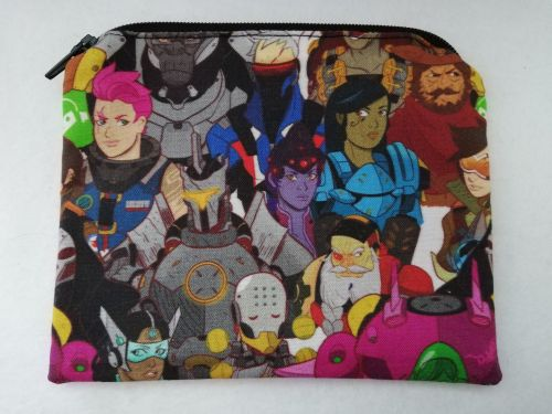 Zipper Pouch Made with Overwatch fabric