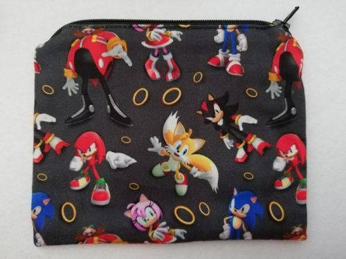 Zipper Pouch Made with Sonic fabric