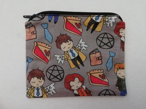 Zipper Pouch Made with Supernatural fabric