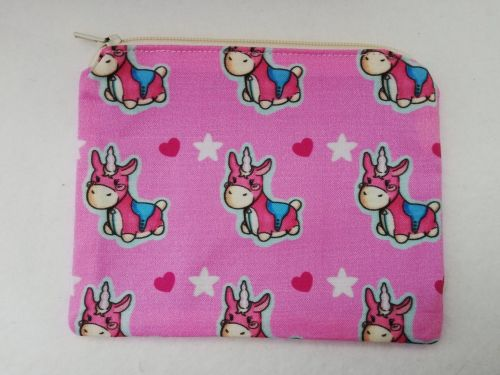 Zipper Pouch Made with Team Fortress 2 fabric - Balloonicorn