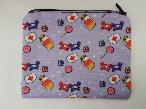 Zipper Pouch Made with Team Fortress 2 fabric