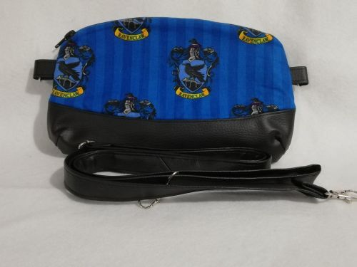 Clutch / Crossbody bag made with Ravenclaw fabric