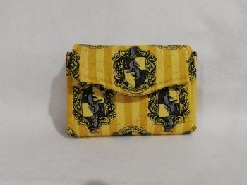 Mini NCW Made With Hufflepuff fabric