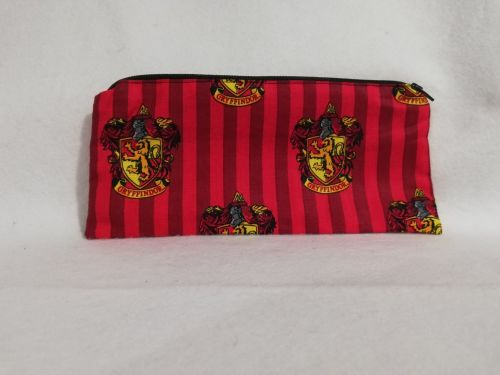 Pencil Case Made With Gryffindor Fabric