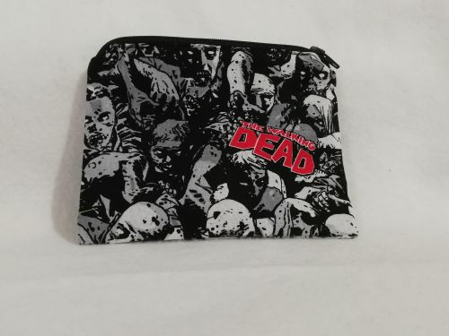 Coin Purse Made With Walking Dead fabric