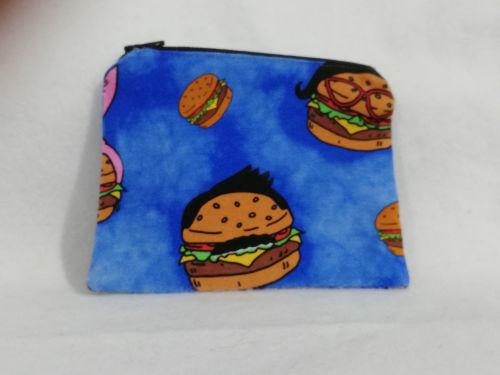 Coin Purse Made With Bobs Burgers fabric