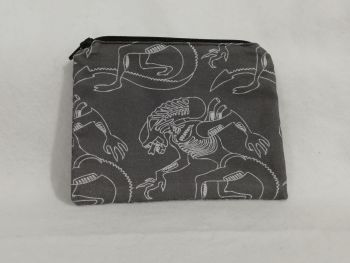 Coin Purse Made With Aliens fabric