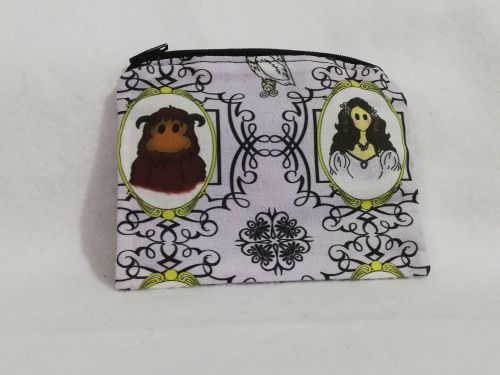 Coin Purse Made With Labyrinth fabric