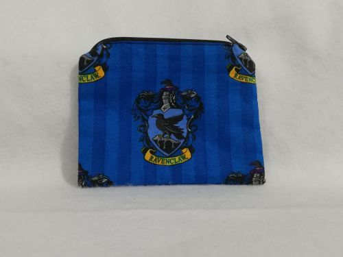 Coin Purse Made With Ravenclaw fabric