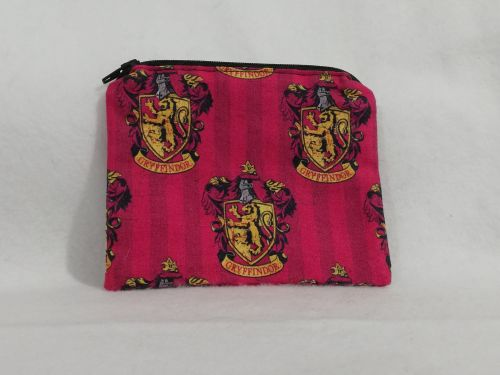 Coin Purse Made With Gryffindor fabric