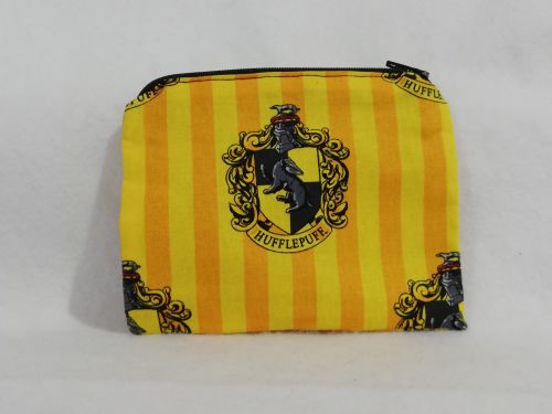 Coin Purse Made With Hufflepuff fabric