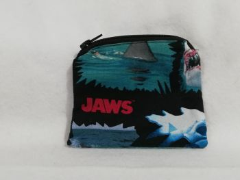 Coin Purse Made With Jaws fabric